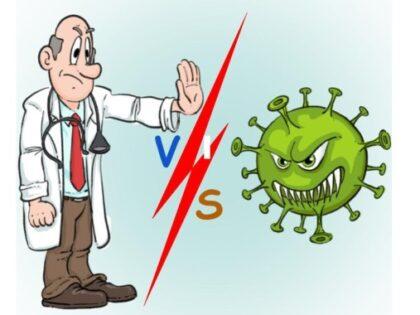 Вирусы против врачей!