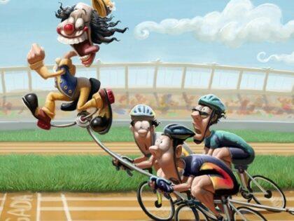 Кто быстрее на велосипеде?